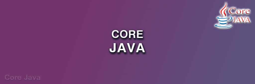 CORE JAVA TRAINING IN INDORE
